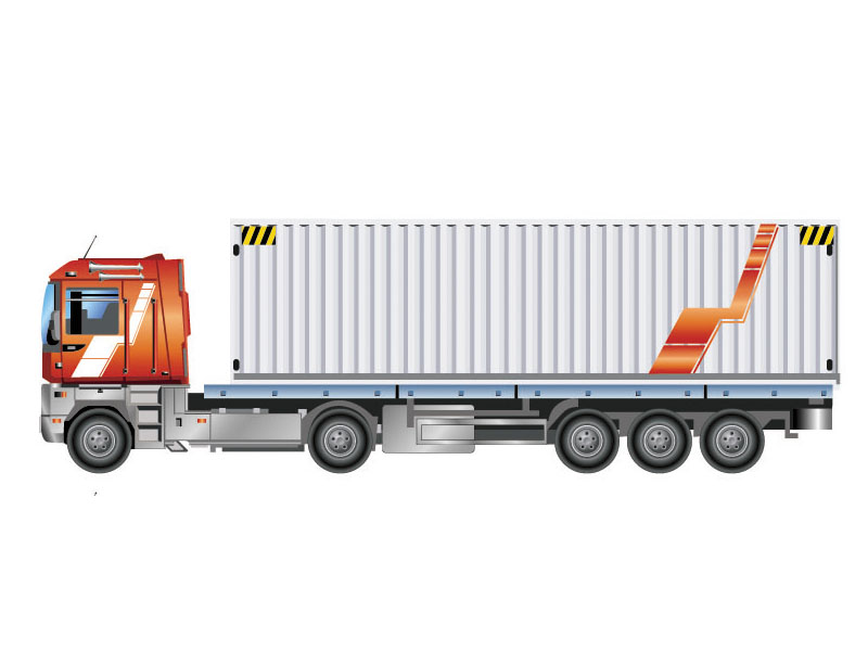 Container Truck Transportation